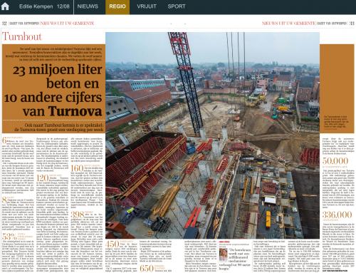 TURNOVA Gazet van Antwerpen 12/08/2017